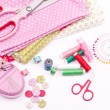 Sewing kit — Stockfoto #22561897