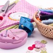Sewing kit — Stockfoto #22565775