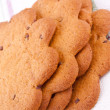 Scandinavian thin biscuits — Stock Photo