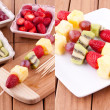 Fruit kebab — Stock Photo #22607137