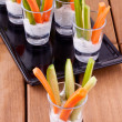 Vegetable appetizers - Photo