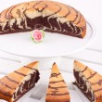 Marble cake — Stock Photo #22940238