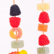 Candy skewer — Photo