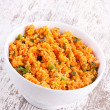 Kisir, Bulgur salad with tomato paste, parsley and onion — Stock Photo #26565481