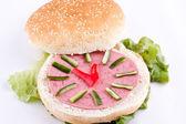 Sandviç için kids — Stok fotoğraf
