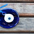 Blue evil eye — Stock Photo
