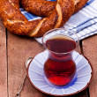 Teand turkish bagel — Stock Photo #35190233