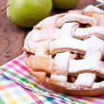 Apple tart — Stock Photo