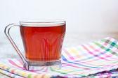 Черный чай — Стоковое фото