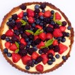 Berry tart — Stock Photo