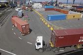 морской торговый порт одессы — Стоковое фото