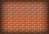 Brick wall realistic vector — Stock Photo