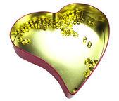 сердце, наполненное омега-3 — Стоковое фото