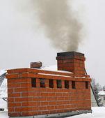 Smoking Chimney — 图库照片