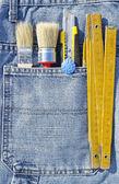 工具袋 — 图库照片