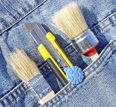 Tools in pocket — Stock Photo