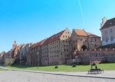 Grudziadz scenery in Poland — Stock Photo