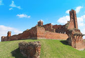 Castle in Radzyn Chelminski — Stock Photo