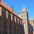 Medieval Teutonic castle in Kwidzyn. Poland — Stock Photo