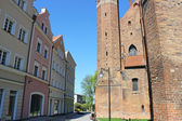 Scenery of Kwidzyn castle and cathedral, Poland — Stock Photo