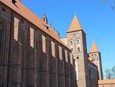 Medieval Teutonic castle in Kwidzyn. Poland — Stock Photo