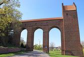 Castillo teutónico medieval en kwidzyn. polonia — Foto de Stock