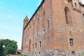 Castle of the Teutonic Knights in Gniewie.Polska. — Stock Photo
