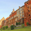 Granaries in Grudziadz above the river Wisla, Poland — Stock Photo #33254959