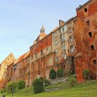 Granaries in Grudziadz above the river Wisla, Poland — Stock Photo