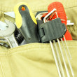Tools in your pocket — Stock Photo