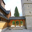 Постер, плакат: Norwegian temple Wang in Karpacz Poland