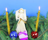 圣诞装饰 — 图库照片