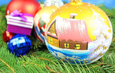 Dekorację świąteczną — Zdjęcie stockowe