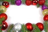 Christmas green framework isolated — Foto de Stock