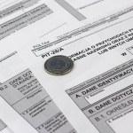Polish Information taxpayer revenues pit-28 — Stock Photo #39815667