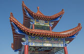 Chinese architecture pavilion — Stock Photo