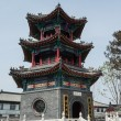 The ancient Chinese traditional architecture — 图库照片