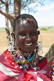 Beautiful African woman. — Stock Photo
