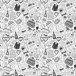 Wedding - seamless pattern - Image vectorielle