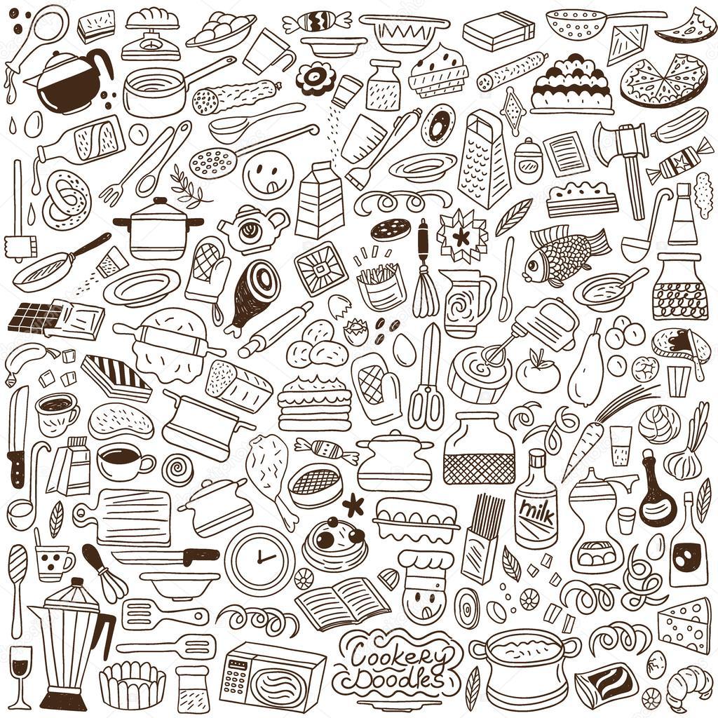 厨房小工具-中的素描样式设置图标