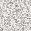 Royalty-Free Stock Vector Image: Food ,cookery - seamless pattern