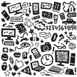 Royalty-Free Stock Vector Image: Technology doodles