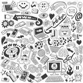 Rabiscos web — Vetorial Stock
