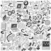 Science - doodles collection — Vecteur