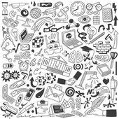Education doodles — Stock Vector
