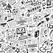 školní vzdělání - čmáranice — Stock vektor