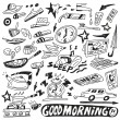 Morning doodles — Stock Vector #32537947