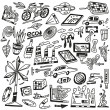 Technology , ecology - vector icons — Stock Vector