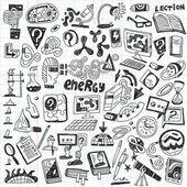 Science - doodles — Stock Vector