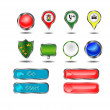 Buttons for icons — Stock Vector #47218631